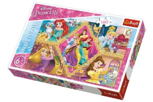 Puzzle Princezny Disney koláž 160 dílků v krabici
