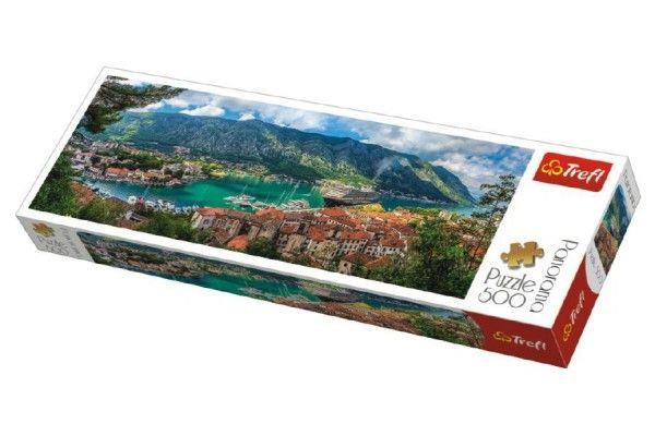 Puzzle Kotor, Montenegro panorama 500 dílků