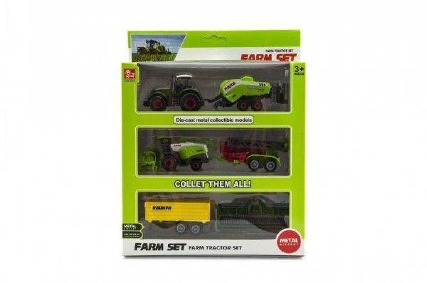 Sada farma zemědělské stroje 6ks