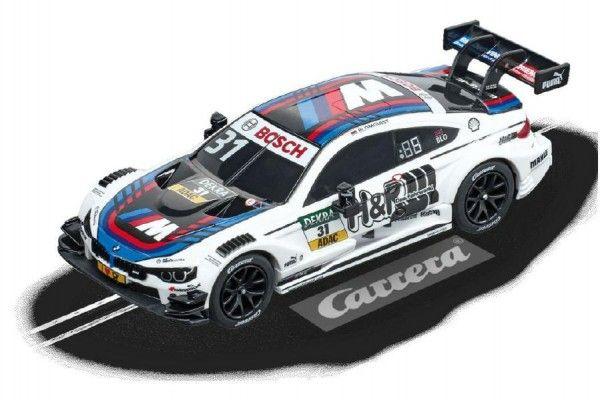 Auto k autodráze Carrera GO!!! 64108 DTM BMW M4 11cm na kartě