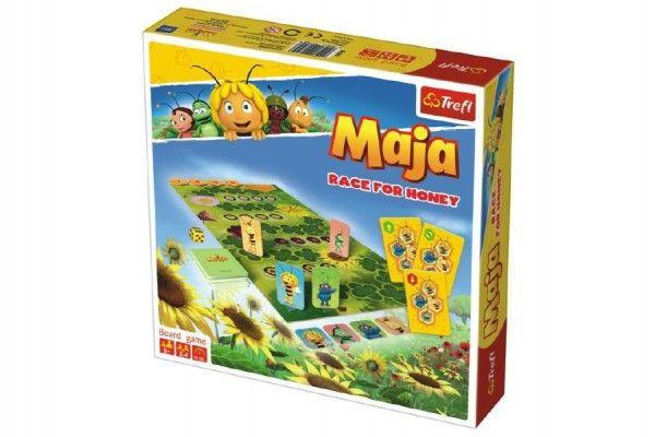 Včelka Mája závod o med stolní hra v krabici 24x25x5cm 5+