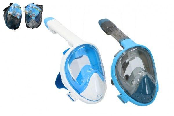 Šnorchlovací maska pro dospělé 25 cm vel. S-M