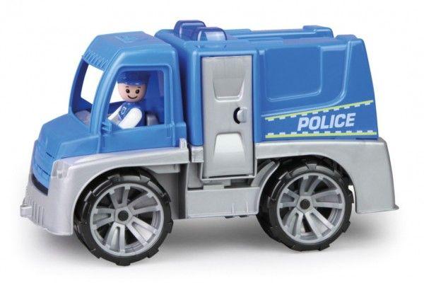 Auto Policie Truxx s figurkou plast 29cm