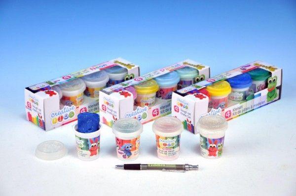 Modelína/Plastelína 4ks v krabici 23x6,5x6cm