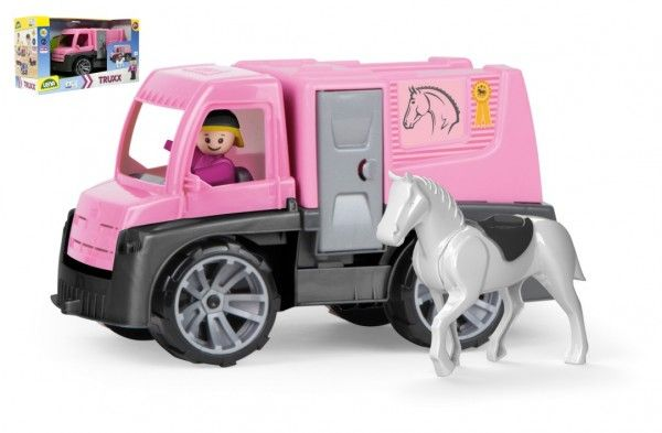 Auto Truxx přeprava koní s figurkami plast 26cm