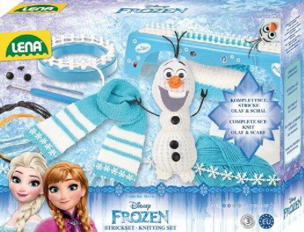 Studio pletení: pletací stůl Frozen/Ledové království s doplňky