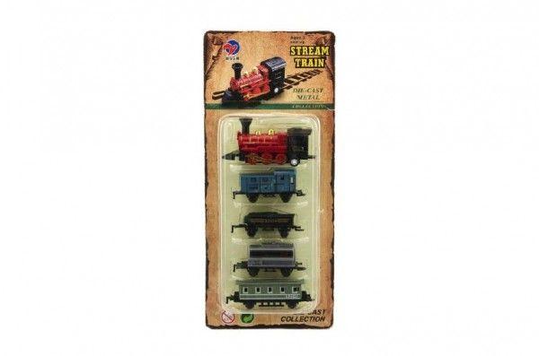 Lokomotiva s vagónky