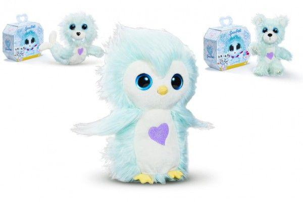 Plyšová hračka Fur Balls Sněžní kamarádi plyš v krabičce 24x19x13,5cm