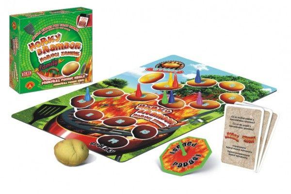 Horký brambor FAMILY společenská hra v krabici 25x25x6cm