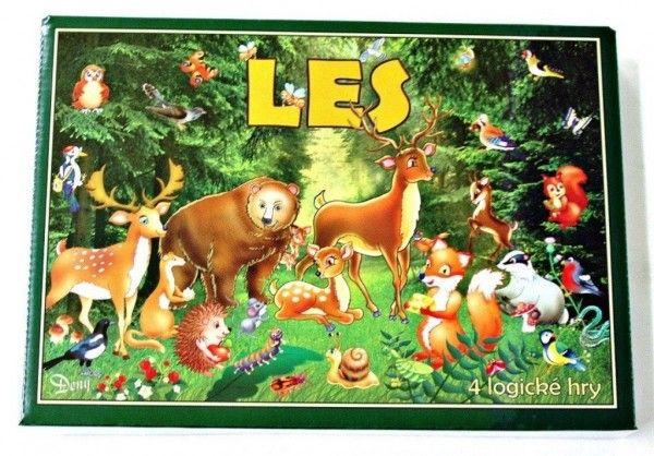 Les 4 logické hry společenská hra v krabici 29 x 20 x 4 cm