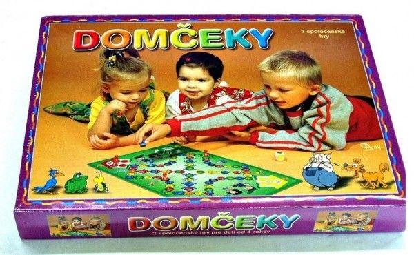 Levně Domečky 2 společenské hry v krabici 34 x 25 x 4 cm SK verze