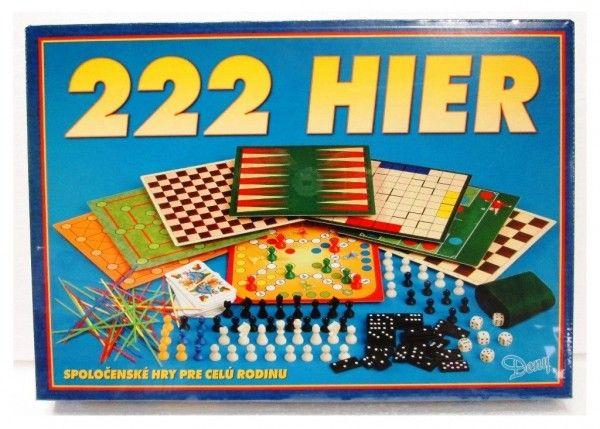 222 her společenská hra v krabici 42x29,5x6cm SK verze