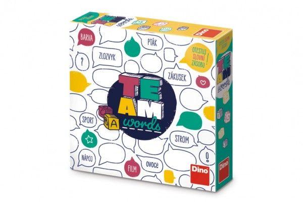 Team words společenská hra v krabici 24x24x6cm CZ verze
