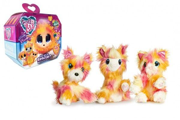 Zvířátko FUR BALLS Touláček Tutti Frutti pejsek/kočka/lama plyš plast s doplňky v krabici 24x20x10cm