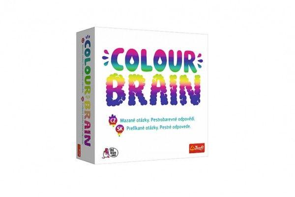 Colour Brain – Mazané otázky společenská hra v krabici 26x26x8cm