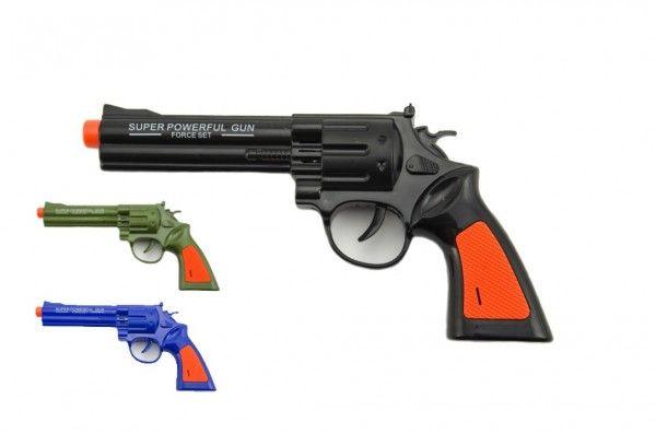 Plastová pistole, 22 cm