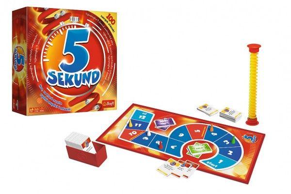 5 Sekund nová grafika společenská hra v krabici 26x26x8cm CZ verze