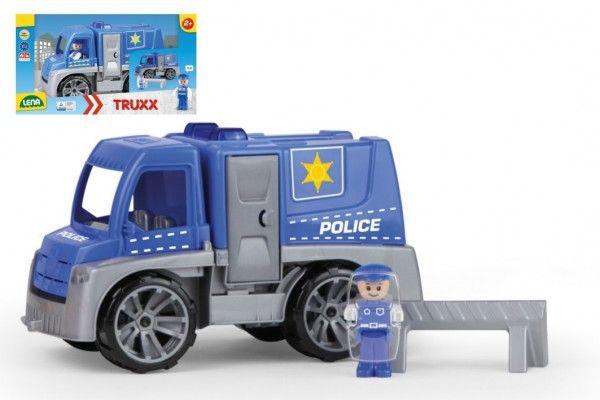 Auto Truxx policie plast 29cm s figurkou