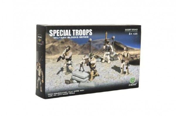 Stavebnice s vojáky
