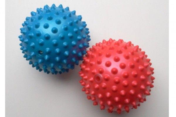 Masážní míček 9 cm guma v sáčku
