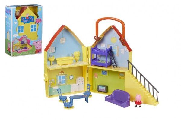 Prasátko Peppa domeček s figurkou a doplňky