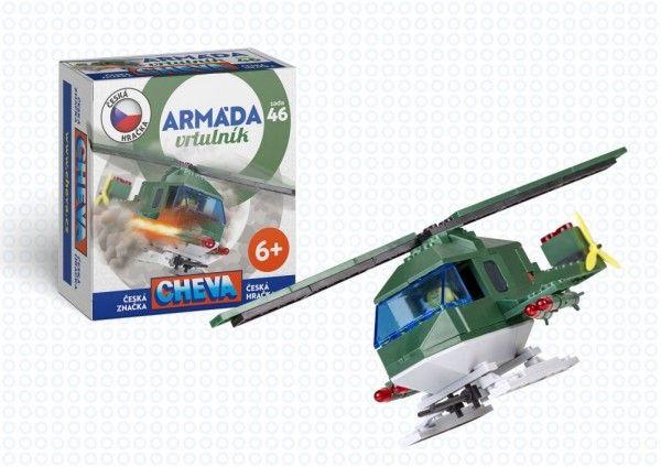 Stavebnice Cheva - Vrtulník