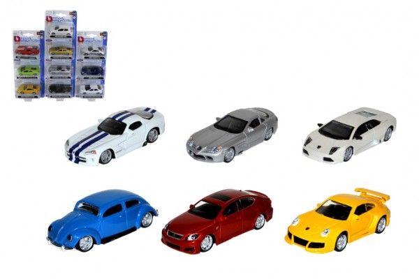 Auto Bburago 7-8cm kov/plast