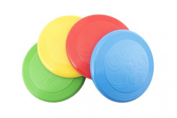 Frisbee plast 23 cm 4 barvy 12 m+
