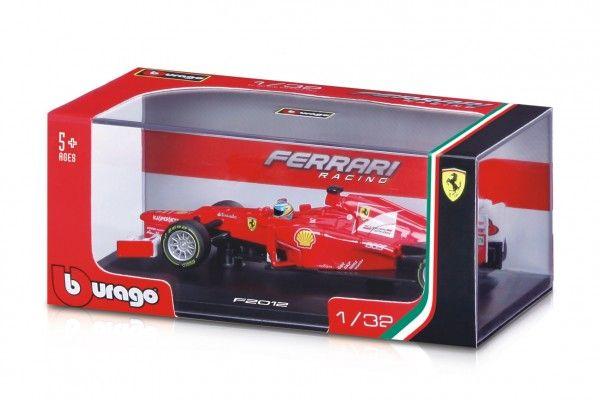 Auto Bburago 1:32 Ferrari v plastové krabičce - 16,5x7x9 cm