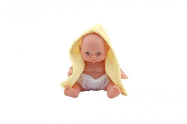 Miminko panenka pevné tělo plast