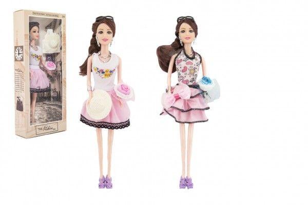 Panenka kloubová s doplňky plast 30cm