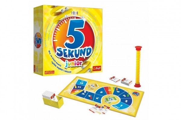5 Sekund junior společenská hra v krabici - 26x26x8cm CZ