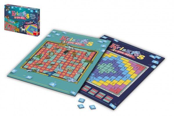 Kris Kros pro děti společenská hra v krabici
