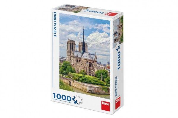 Puzzle Katedrála Notre-Dame, Paříž 47 x 66 cm 1000 dílků
