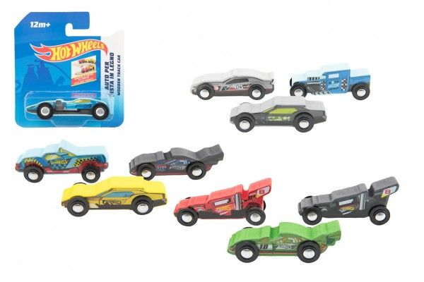 Auto/Formule Hot Wheels dřevěné