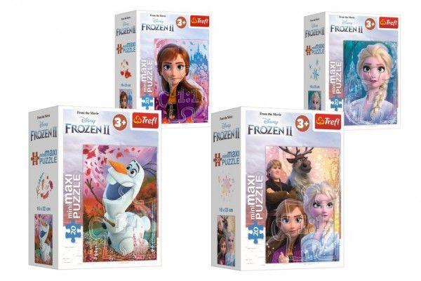 Minipuzzle miniMaxi 20 dílků Ledové království II/Frozen II