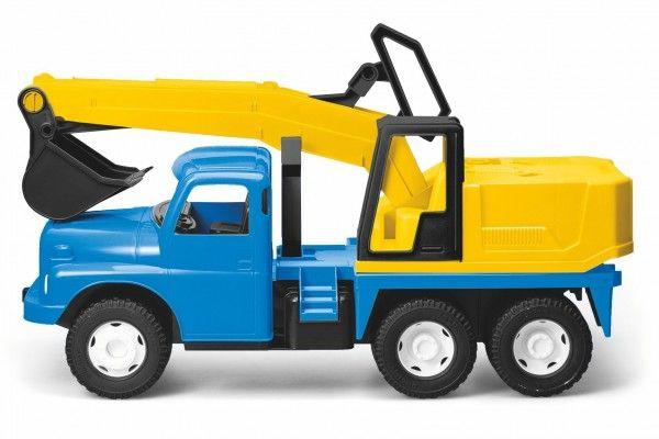 Dino Tatra 148 bagr 72 cm modrožlutý