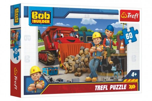 Puzzle  Bob a Wendy/Bořek Stavitel 33 x 22 cm 60 dílků