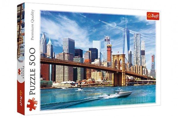 Puzzle výhled na New York 500 dílků 48 x 34 cm v krabici