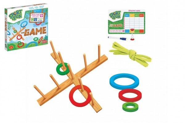 X-Game Sport&Fun házecí hra v krabici 41x40x4,5 cm