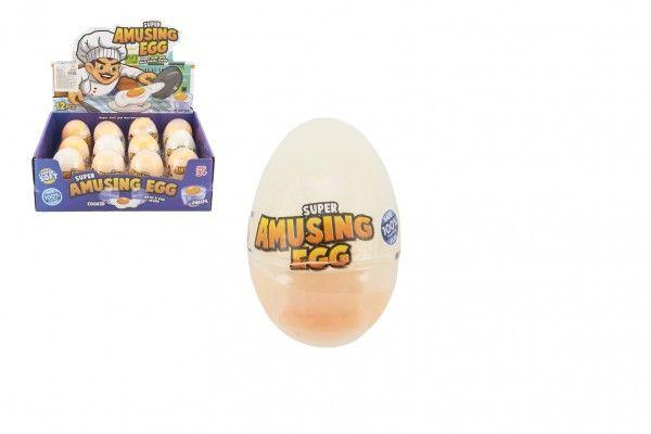 Sliz - hmota vejce 7 cm, 12 ks v boxu
