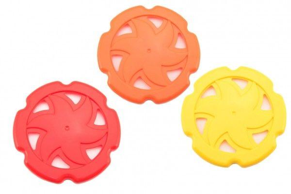 Létající talíř plast průměr 22 cm 3 barvy