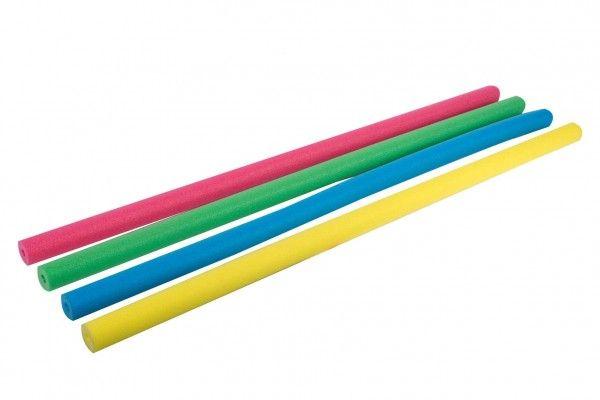 Vodní tyč plavací pěnová trubice 155 cm, 4 barvy