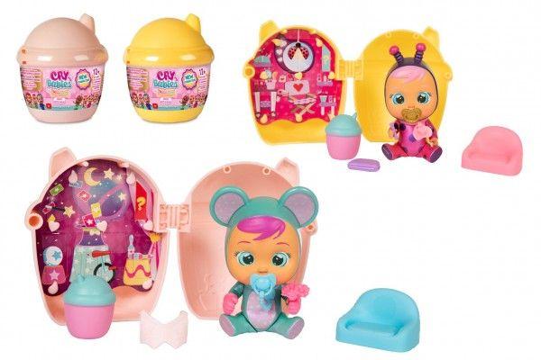 CRY BABIES Magické slzy plast 3.série panenka s domečkem