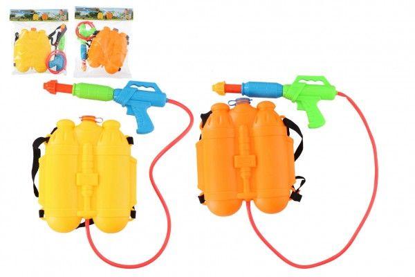Vodní pistole se zásobníkem na záda
