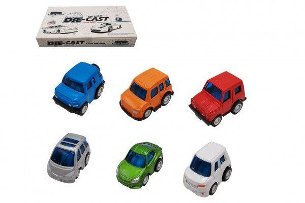 Auto mini kov/plast 5cm na zpětné natažení