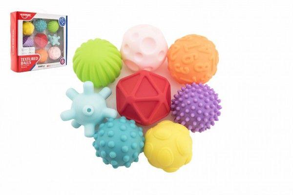 Sada gumových míčků s texturou