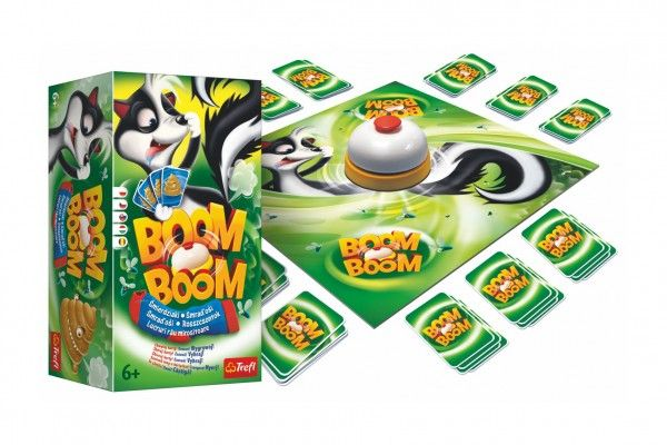 Boom Boom Smraďoši společenská hra v krabici 15 x 16 x 10 cm