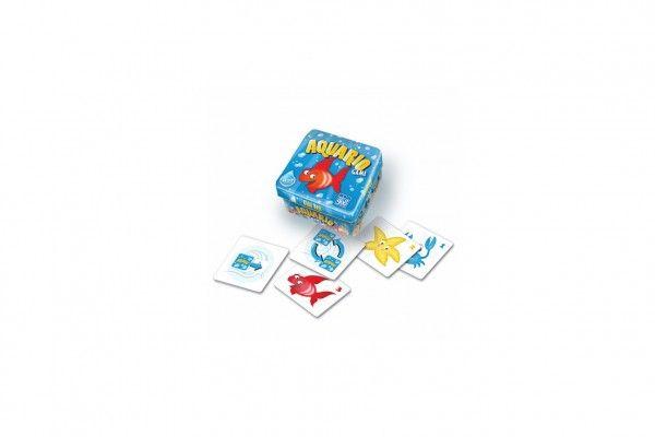 Aquario společenská hra v krabičce 13x13x7,5cm