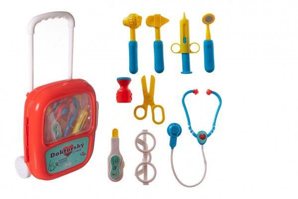 Sada doktor/lékař v plastovém kufříku